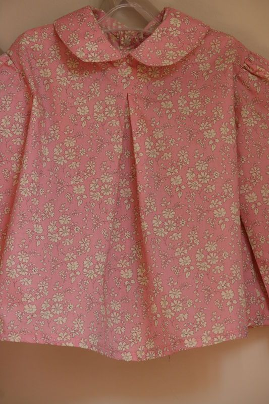 Blouse Colombe Citronille Liberty Capel rose