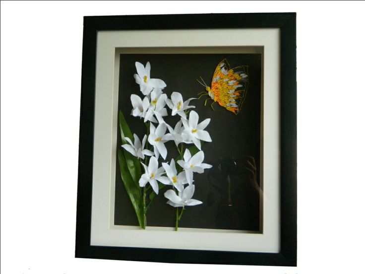 Beautiful paper art work mixed with quilled paper art. A must art for your wall to showcase.