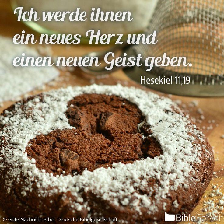 Nachzulesen auf BibleServer | Hesekiel 11,19