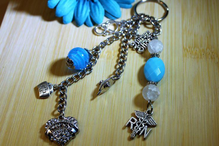 RN Nurse Keychain, Graduation RN Gift, Nurse Keychain, Florence Nightingale Lamp Keychain, RN Nurse Key Chain, Gift for Nurse, by MyCreationsbyCRW on Etsy