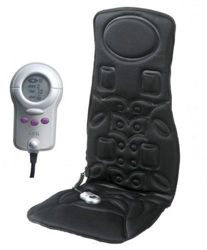 Oferta: 45.96€ Dto: -38%. Comprar Ofertas de AEG MM 5568 - Respaldo de masaje para casa o coche, 6 zonas masaje, color negro barato. ¡Mira las ofertas!