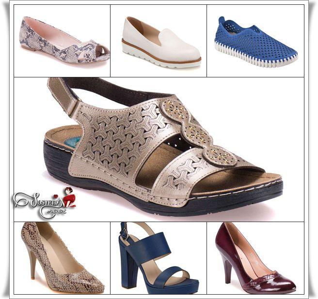 Günlük koşturmaca içinde hangi kadın rahat ayakkabılarıyla birlikte aynı zamanda şık olmak istemez ki? Hemen her zevke hitap eden ayakkabı modelleri ile rahatlığı ve şıklığı bir arada yaşayabileceğiniz ayakkabılar,      Türkiye'nin en büyük ayakkabı mağazası  Flo'da Farklı markalar ile bir arada. Flo 2016 Bayan Ayakkabı Koleksiyonu için tıklayınız ⤵ http://www.sosyetikcadde.com/flo-2016-ilkbahar-yaz-bayan-ayakkabi-koleksiyonu/