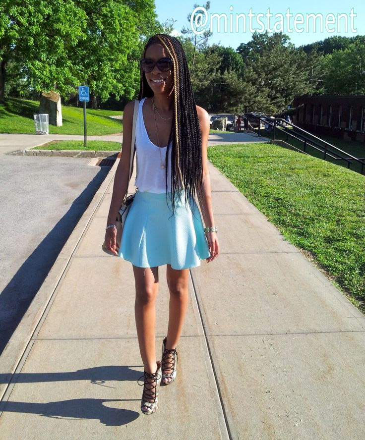 Check out mintstatement.com for daily fashionable post. #fashionblogger #outfitoftheday #mint #white