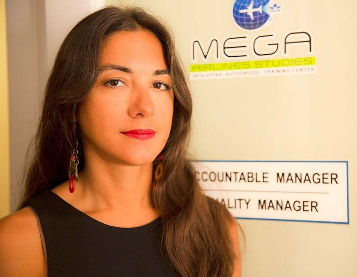 Caterina Galiti, Training Manager at Mega Airlines Studies