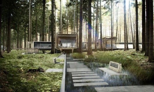 Boogertman Wins Competition to Design Educational Centre in Kenya's Karura Forest