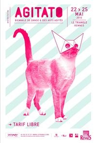 Affiche du festival Agitato - Rennes