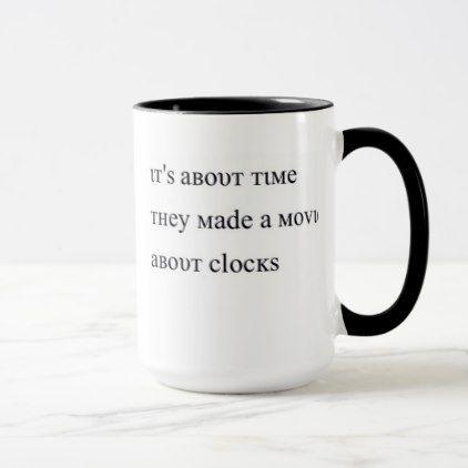Clock Puns Mug - decor gifts diy home & living cyo giftidea