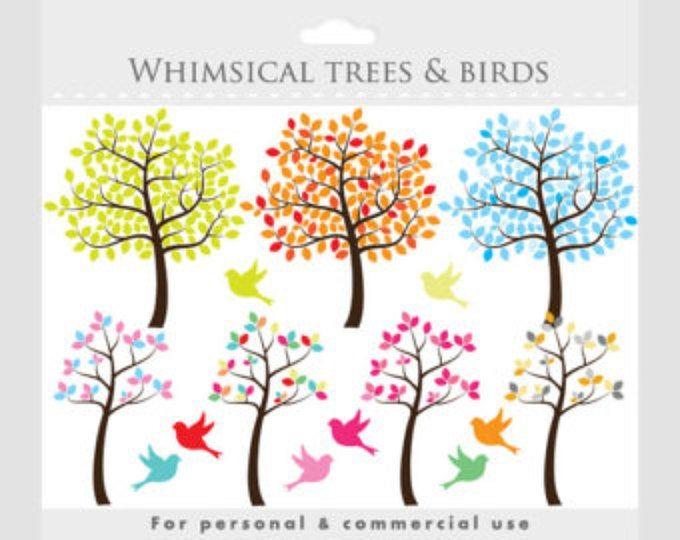 Bird Clipart Little Birds Clip Art Baby Birds Whimsical Cute Etsy Vogel Malvorlagen Vogel Clipart Stammbaum Tattoo