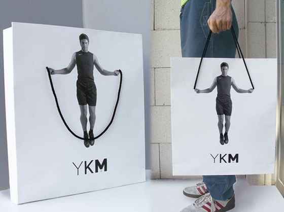 Kreative Werbung f�r Fitness Studios