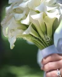 Bouquet di calle bianche. Floral design by nozze e dintorni