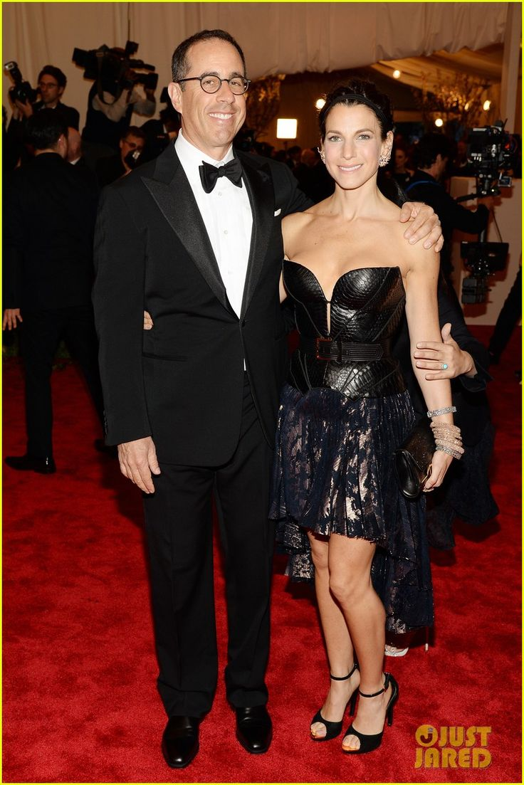 Jerry Seinfeld is all smiles as he hits the red carpet at the 2013 Met Gala held at the Metropolitan Museum of Art on Monday (May 6) in New York City.    The 59-year-old…