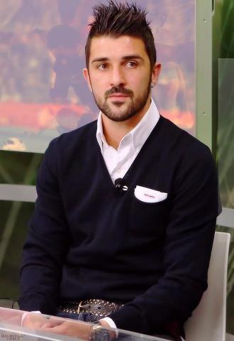 David Villa, FC Barcelona.