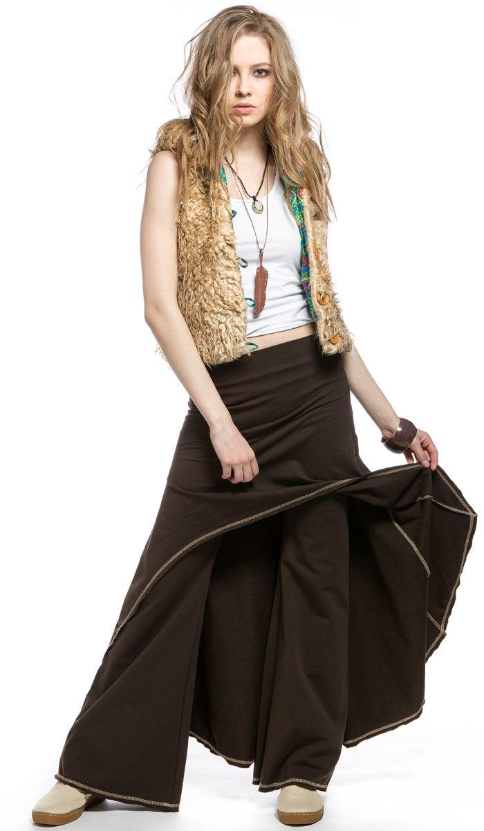 Юбка-брюки,стиль хиппи, бохо, этническая одежда,style hippie boho, ethnic clothing, bohemian. 6370 рублей