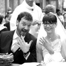 Cuscino fedi country chic | Sposi in chiesa | Wedding designer & planner Monia Re - www.moniare.com | Organizzazione e pianificazione Kairòs Eventi -www.kairoseventi.it