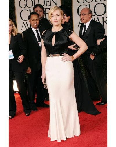 Keyhole Belt Mermaid Kate Winslet Celebrity Dress