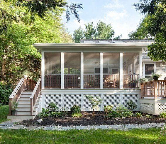 Inexpensive Renovations Add A Patio Or Screened Porch To Your