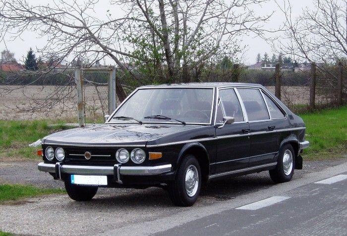 The Czech made, rear engined V8 Tatra 613