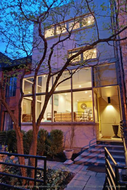 Modernist townhouse in chicago cool houses daily home for Interior design staffing agency chicago