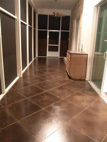 Scofield Dark Walnut Concrete Stain Dexter Ave