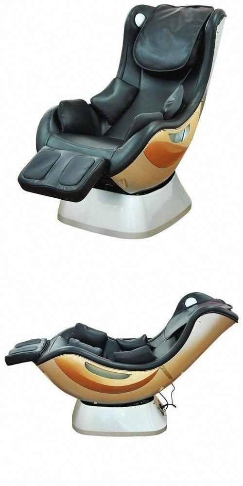 Electric Massage Chairs: Electric Massage Chair Black Full Body Shiatsu  Motion Stress Relief Relaxation