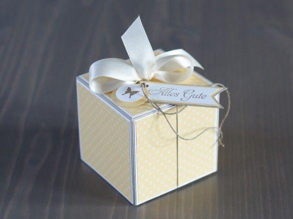 klappbare Box  siehe auch Anleitungen