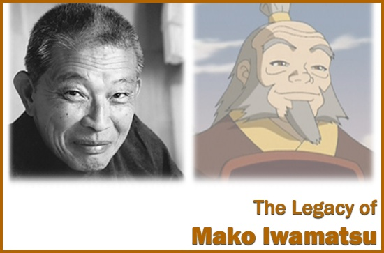 Mako Iwamatsu, film and stage actor, voice actor, nominated for Tony & oscar awards (Conan the Barbaria, The Sand Pebbles, Avatar:The Last Airbender) 1933-2006