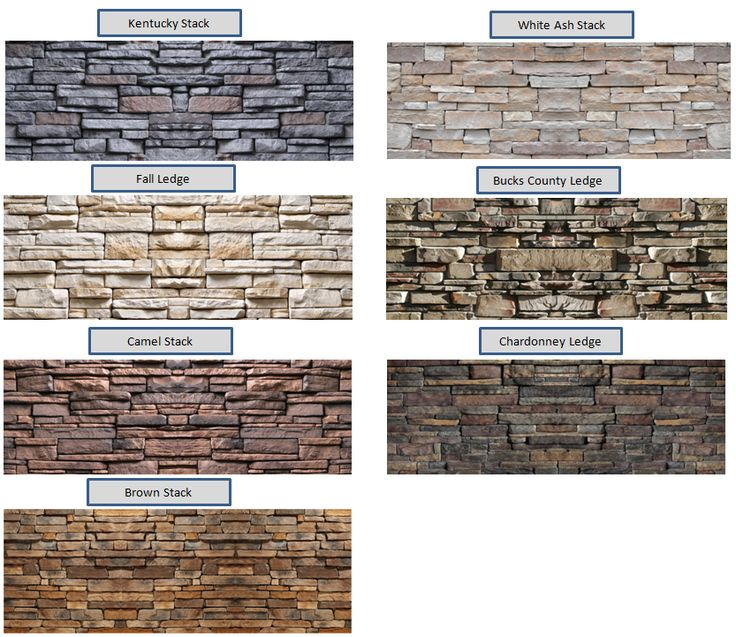 Stone Exterior Finishes Stone Color Options For The