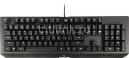 Клавиатура RAZER BlackWidow X, USB, черный [rz03-01761200-r3r1]  — 6690 руб. —  интерфейс: USB, мультимедийная, классической формы