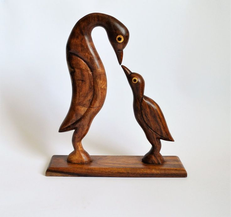 Birds Motherhood sculpture office desk decor