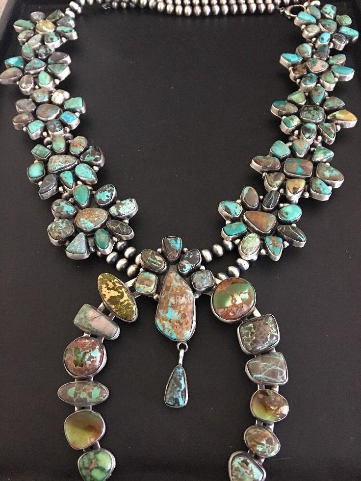 17 Best Images About Squash Blossom Necklaces On Pinterest