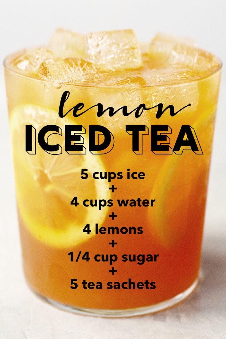 Lemon iced tea recipe #lemonicedtea #icedtea