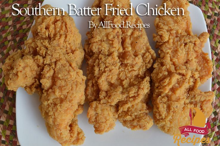 Southern Batter Fried Chicken This recipe reminds me of KFC, but way, way better. And is it easy to make? Yep, it's as easy as sliding off a greasy log backward. I found this recipe by looking online for the ultimate fried chicken breading. I think I have found the holy grail of fried chicken