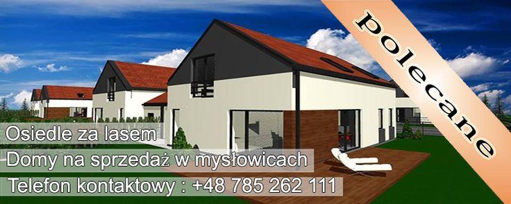 Nowoczesne domy jednorodzinne położone w spokojnej dzielnicy Mysłowic są idealną propozycją dla osób szukających ciszy z dala od miejskiego zgiełku.