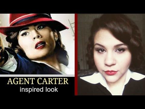 ♥♥♥♥♥♥♥♥♥♥ READ ME! ♥♥♥♥♥♥♥♥♥♥ Hello my beauties! A friend of mine asked if I could recreate a look for her, and it turned to be this Marvels Agent Carter lo...