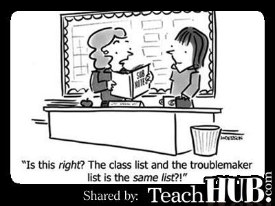 Teacher Humor |  ...I imagine my substitutes have felt like this over the years...