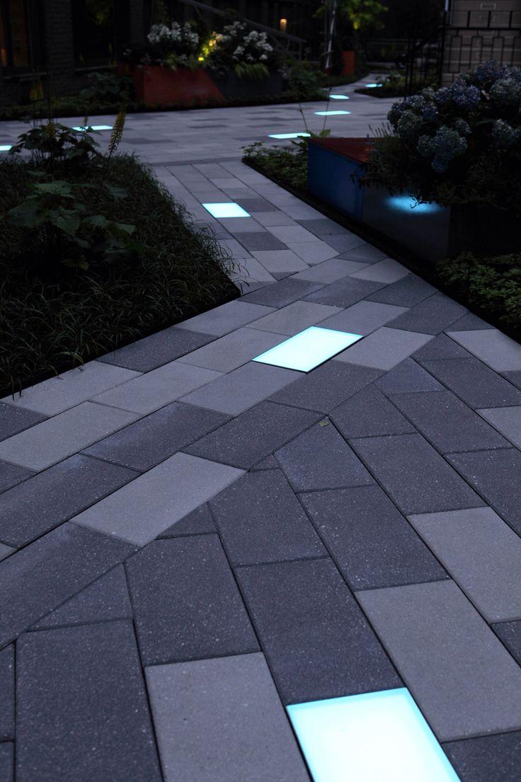 Courtyard Glow on Behance