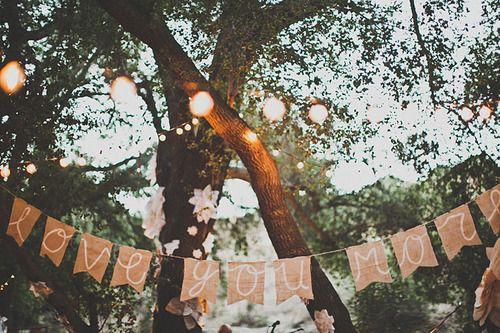 wedding: Outdoor Wedding, Wedding Parties, Wedding Decor, Outdoor Parties, Burlap Banners, Wedding Banners, Anniversaries Parties, Wedding Signs, Memorial Mornings