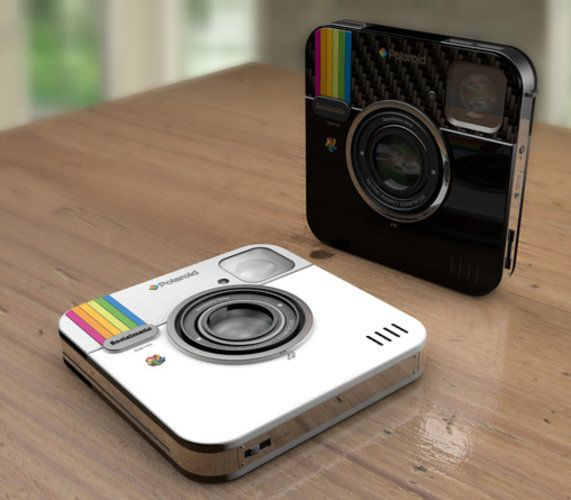 Polaroid Plans To Produce The Instagram Camera. Looks very cool. I know a few friends that have to have this.