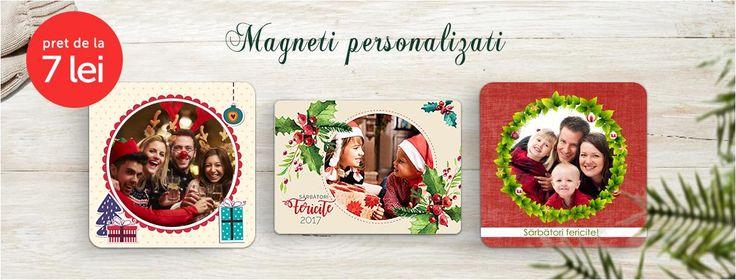 Magentii de frigider personalizati cu pozele copiilor sunt un cadou de suflet pentru bunici si nasi. Ai o poza reusita pe care sa o transformi in magneti de frigider?    Uite magnetii de Craciun: https://www.tiparo.ro/magneti-personalizati/magneti-pentru-craciun  Sau  Calendare magnetice cu poze: https://www.tiparo.ro/magneti-personalizati/magneti-pentru-craciun