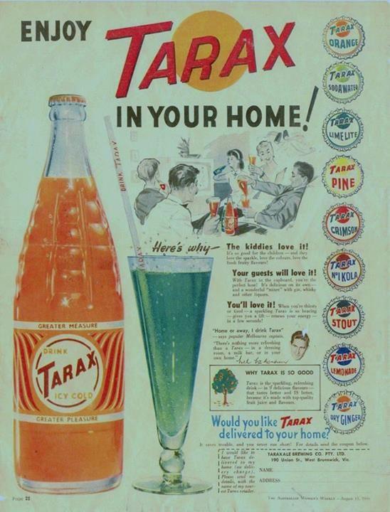 I did. Never tasted Tarax Stout! I wonder what it was like?