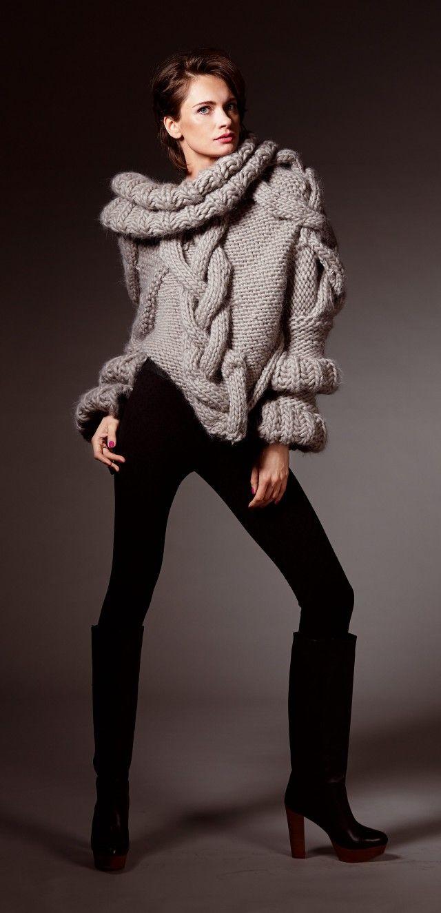 En helt spesiell genser for dem som tør å skille seg litt ut.
