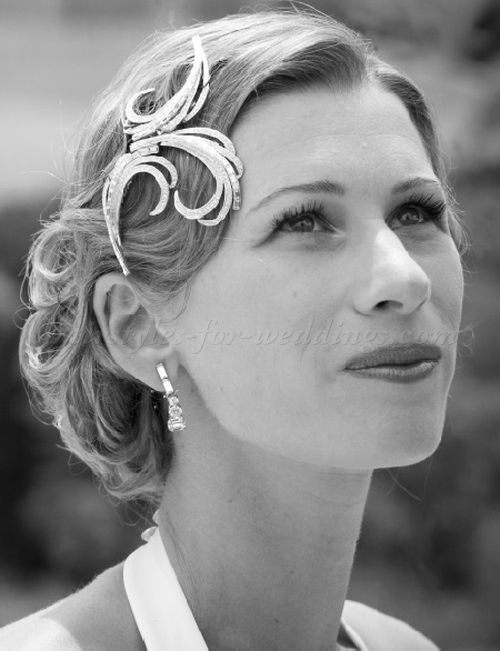 Super 1000 Ideas About Vintage Bridal Hairstyles On Pinterest Vintage Short Hairstyles Gunalazisus