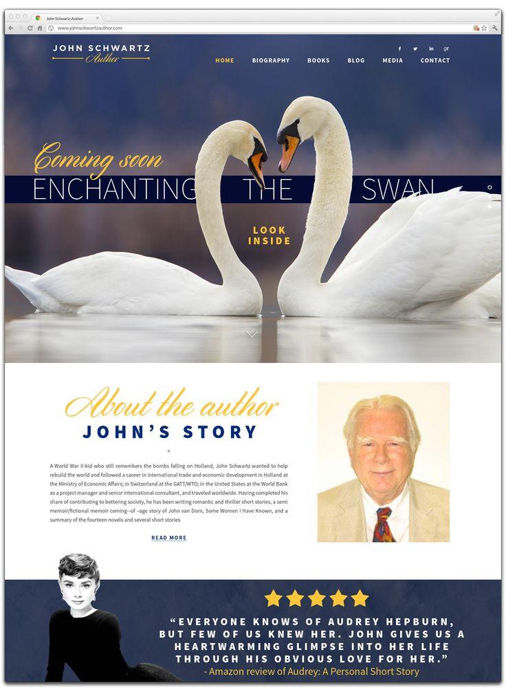 Website for John Schwartz, author