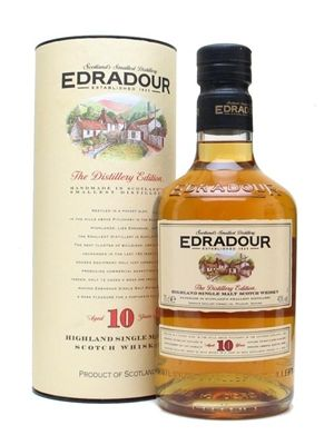 Edradour 10 Year Old single malt whisky is available from Whisky Please.
