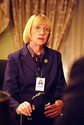 Kathryn Joosten as Mrs. Landingham. The West Wing.