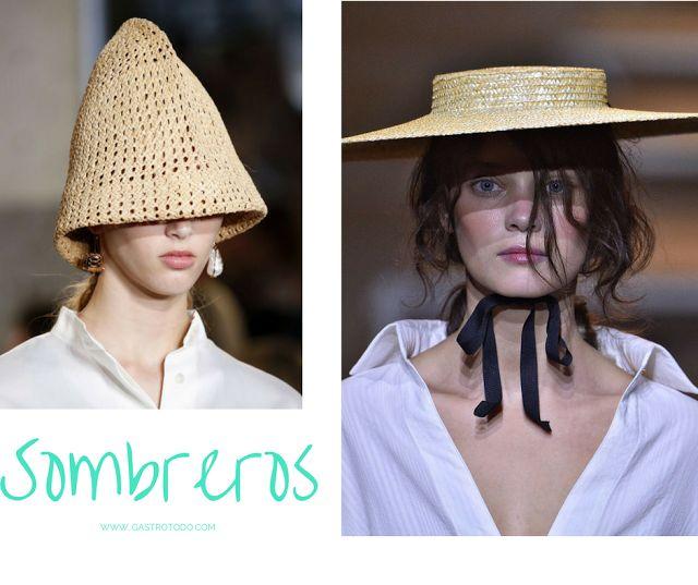 Sombrero alargado versus sombrero plano.