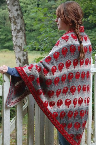 Ravelry: trollenwol's little red sheep in the mist