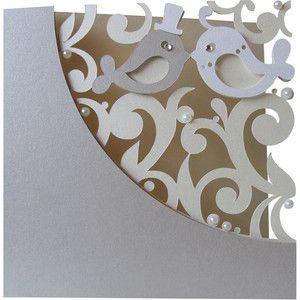 Silhouette Design Store - View Design #162094: love birds layer card