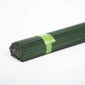 Drut florystyczny cięty ZIELONY 0.7mm - 40cm, 1 kg (pudełko)ok 165 drutów