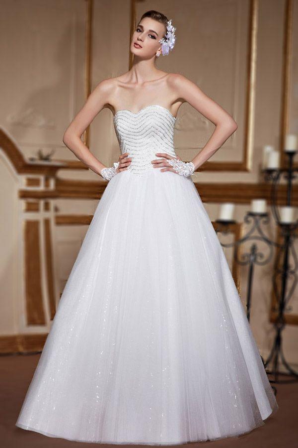 Fabuleux Les 25 meilleures idées de la catégorie Robes de mariée en bijoux  RP42